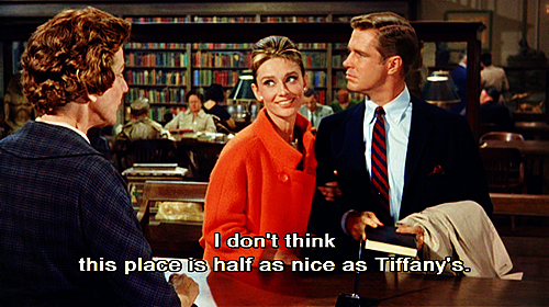 Breakfast at Tiffanys (1961) Quote (About tiffany jewelry funny)